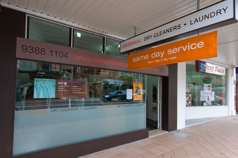 Centennial Dry Cleaners Rose Bay